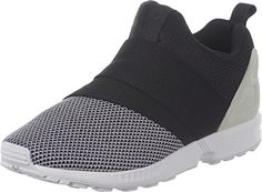 wholesale dealer e6265 3307f Adidas Originals ZX FLUX SLIP ON Scarpe Sneakers Nero Grigio per Uomo  Amazon.it Sport e tempo libero
