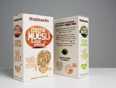 Packaging of the World: Creative Package Design Archive and Gallery: Hubbards Amazing Mueslis