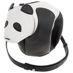パンダ ショルダーバッグ ブラック/ホワイト