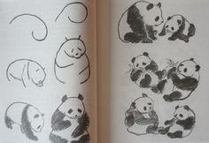 1 Panda Painting, Sumi E Painting, Chinese Painting, Watercolor Paintings, Panda Party, Chinese Brush, Art Thou, China Art, Painted Books