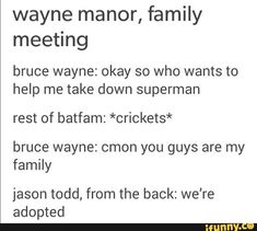 Pretty sure this is what happened right before Batman Vs. Superman