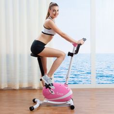 Exercise Bikes For Home Upright Seat Workout Equipment Women Cardio Best  Machine eb1f272b2a