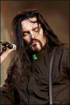 Peter Steele of Type O Negative. I will forever adore him and his mezmorizing voice.