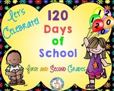 120th Day Celebration includes Greater Than Less, Less Than, Equal To  practice worksheet, Place Value Graphing Class data, and Grouping practice for 2's, 5's and 10's.  If you need something in a hurry for the 120th day of school, this is the product for you!