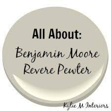Image result for colors that go with revere pewter benjamin moore