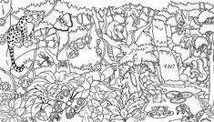Free Printable Rainforest Coloring Pages - AZ Coloring Pages ...