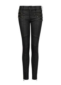 Jeans super slim Vivian encerados