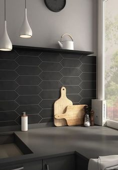 Tiles with creative shapes will transform your kitchen into a brand-new space! Today there are several high-quality products on the market that will provide you with a wide range of unique shapes and colours. A flattened hexagon, for example, is a plain shape and you can use it as an alternative to the standard square, rectangle, or regular hexagon.