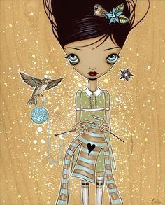 Knitting by Caia Koopman