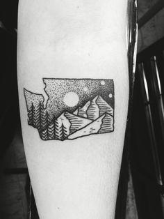 washington tattoo on pinterest rock tattoo state tattoos and texas flag tattoo. Black Bedroom Furniture Sets. Home Design Ideas