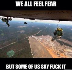 Attitude - Ever wonder why so many former Airborne and other elite combat vets are Bikers.The Attitude - Ever wonder why so many former Airborne and other elite combat vets are Bikers. Military Quotes, Military Humor, Military Service, Army Humor, Army Life, Military Life, Gi Joe, Airborne Army, Fort Bragg