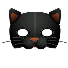 Paper Plate Cat Mask | ladybug mask template - ladybug mask template printable