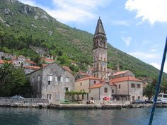 Perast, Montenegro: Postcard-perfect Venetian town complete with crumbling palaces and ornate churches. The fabulous Our Lady of the Rocks church is just offshore.