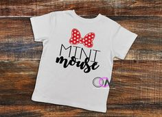 Mini Mouse Shirt, Baby Mouse, Disney Shirts, Going to see the Mouse, Mouse Squad Shirts, Family Vacation Shirts, Disney Family Shirts by 1OneCraftyMomma on Etsy Family Vacation Shirts, Disney Shirts For Family, Disney Family, Family Shirts, Walt Disney, Mini Mouse, Baby Mouse, Disney World Shirts, Birthday Shirts