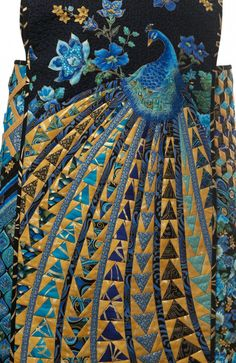 "Rami Kim's ""Queen Peacock""sewtimeless"
