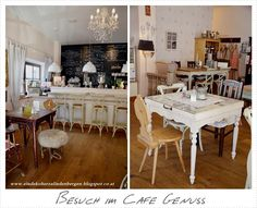 Ein Dekoherzal in den Bergen: BESUCH IM CAFE GENUSS Bergen, Table Settings, Breakfast, Travel, Furniture, Home Decor, Breakfast Cafe, Viajes, Decoration Home