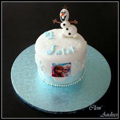 Cake design Frozen reine des neiges