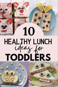 Healthy and simple toddler lunch ideas... very easy to make! Healthy Toddler Lunches, Easy Toddler Meals, Scrambled Eggs With Spinach, Spinach And Feta, Protein Pancakes, New Flavour, Picky Eaters, Coconut Flour, Lunch Ideas