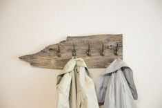 Rustic coat rack, reclaimed wood garment rack, entryway organizer, wardrobe rack, gift for him Boho Bedroom Decor, Boho Room, Boho Decor, Rustic Decor, Bedroom Ideas, Hanging Centerpiece, Rustic Coat Rack, Wooden Wall Decor, Entryway Organization