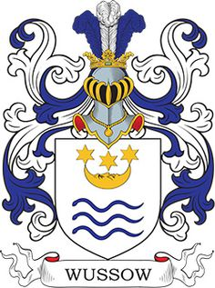 Wussow Coat of Arms