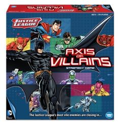 Justice League Axis of Villains Game (810558011386) Promotes cooperation Encourages teamwork Promotes strategic thinking