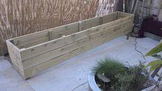 fabriquer des jardinières en bois