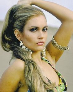 British Classic Bombshell: 45 Glamorous Photos of Alexandra Bastedo in the and ~ vintage everyday British Actresses, Actors & Actresses, Bond Girls, Gymnastics Girls, Classic Beauty, Sexy Hot Girls, Vintage Beauty, Vintage Photos, Blond
