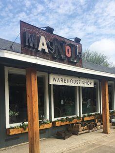 Magnolia Warehouse- the original Magnolia store on Bosque Boulevard | Waco Travel Guide | La Petite Farmhouse