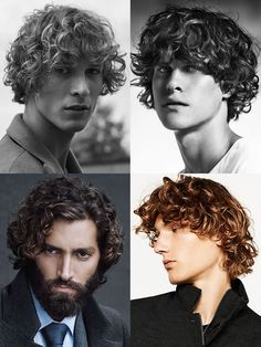 How To Grow Your Hair Out & Key Long Hairstyles For Men: Curly Hair #curlyhair #menshairstyles #menshair