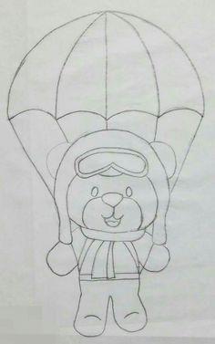Urso de para-quedas !!!