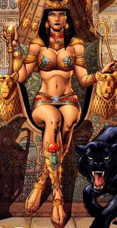 Cleopatra screenshots, images and pictures - Comic Vine