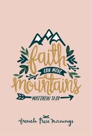 Image result for don't dig up in doubt what you planted in faith