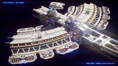 Radial Array Overview The Art of Andrew Comb Portfolio Site, New Details, Cgi, Closer, Space Crafts