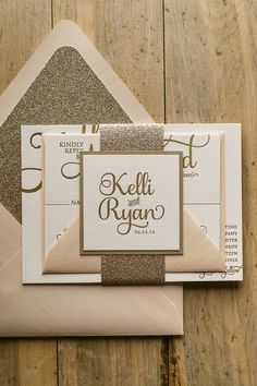 Blush Wedding Invitations Ideas