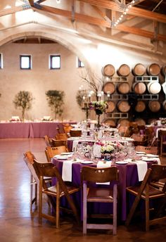 This Napa winery has great open space - perfect for a wedding or any special event