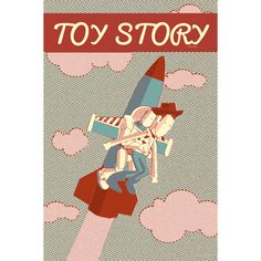 Toy Story Illustrated Print