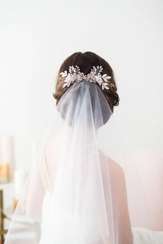 4 ITEMS Garter Lace and Pearl Bridal Gloves Wedding Veil on Comb Tiara