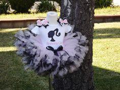 Barbie Birthday Tutu Set by SprinklesOfLove on etsy~ Gabrielle's 3rd birthday outfit:)