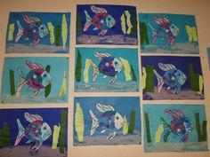 mooiste vis van de zee knutselen - Google zoeken Summer Crafts For Kids, Summer Kids, Under The Sea, Ocean, Strand, Painting, Snacks, Google, Rainbow Fish