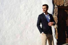 Stefan, del programa 'Mujeres y hombres y viceversa', viste Piel de Toro. ¿Cómo le quedan nuestras prendas? #television #moda #fashion #man #hombre #Lanzarote