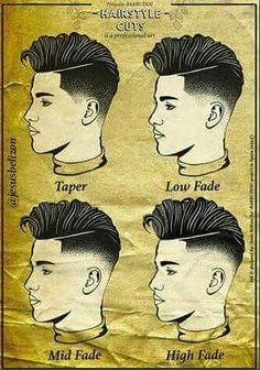 New Hair Cuts Tendence Makeup 58 Ideas Barber Haircuts, Haircuts For Men, Modern Haircuts, Hair And Beard Styles, Short Hair Styles, Gents Hair Style, Hair Cutting Techniques, Barbers Cut, Faded Hair