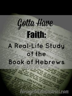 Join us as we study Hebrews and learn truly who Jesus Christ is.