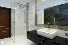 Łazienka - All Design Agnieszka Lorenc 5 W, All Design, Beautiful Homes, Bathtub, Mirror, House, Furniture, Home Decor, Extension Plans