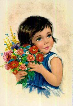 Vintage Ephemera, Vintage Cards, Vintage Stuff, Cartoon Pics, Cartoon Picture, Baby Painting, Digi Stamps, Portrait Photo, Paper Dolls