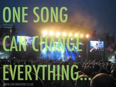 One song can change everything... #Music