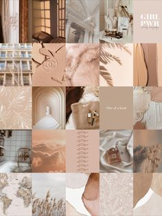 Wall Collage Decor, Bedroom Wall Collage, Photo Wall Collage, Beige Wallpaper, Trendy Wallpaper, Pretty Wallpapers, Iphone Wallpaper Tumblr Aesthetic, Aesthetic Backgrounds, Aesthetic Wallpapers