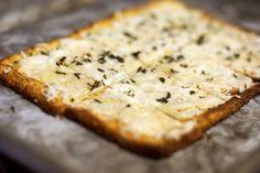 Frozen cauliflower crust