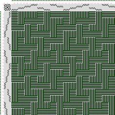 draft image: Figurierte Muster Pl. XLVIII Nr. 2 (a) Motif 3, Die färbige Gewebemusterung, Franz Donat, 8S, 8T