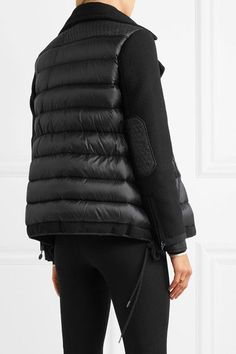 Moncler Twist wool blend and quilted shell down jacket #moncler #wintercoats #blackjackets #casual | Casual Finery | Pinterest | Top designer brands, ...