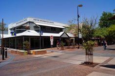 Visitorcenter in Alice Springs Permit für den Mereenie Loop